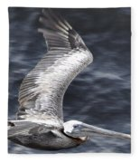 Pelican Flight Fleece Blanket
