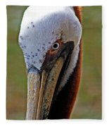 Pelican Head Fleece Blanket