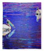 Pelican Mates 2 Fleece Blanket