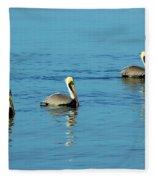 Pelican Racers Fleece Blanket
