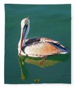 Pelican Reflection Fleece Blanket