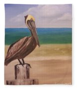 Pelican Rest Stop Fleece Blanket