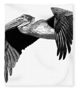 Pelican Fleece Blanket