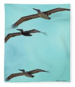 Pelican Trio Fleece Blanket