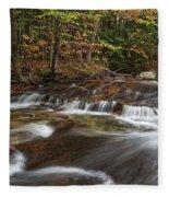 Pemigewasset River Fleece Blanket