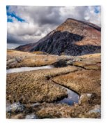 Pen Yr Ole Wen Mountain Fleece Blanket