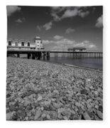 Penarth Pier 1 Fleece Blanket