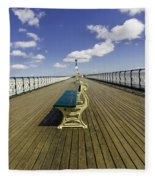 Penarth Pier 9 Fleece Blanket