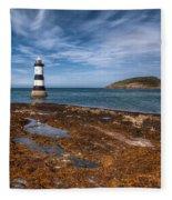 Penmon Lighthouse Fleece Blanket