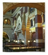 Penn Fine Arts Library Fleece Blanket