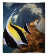 Pennant Coralfish Fleece Blanket