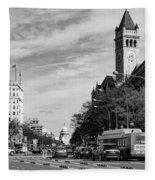Pennsylvania Avenue Fleece Blanket