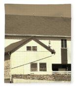 Pennsylvania Barn Fleece Blanket