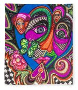 Penny For Your Thoughts Fleece Blanket