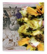 Penny Postcard Easter Fleece Blanket