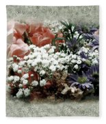 Penny Postcard Romantica Fleece Blanket