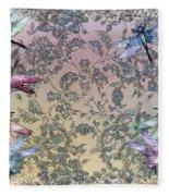 Penny Postcard Tiffany Fleece Blanket