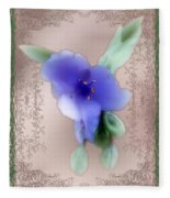Penny Postcard Wildflower Fleece Blanket