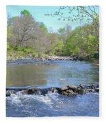 Pennypack Creek - Philadelphia Fleece Blanket