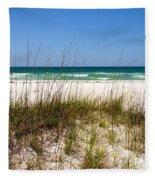 Pensacola Beach 1 - Pensacola Florida Fleece Blanket