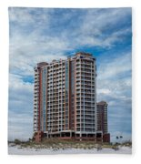 Pensacola Beach Resort Fleece Blanket