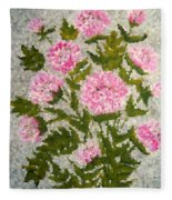 Peony Bush   Fleece Blanket