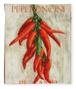 Peperoncini Piccanti Fleece Blanket