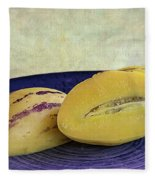 Pepino Melon Fleece Blanket