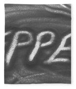 Pepper Fleece Blanket