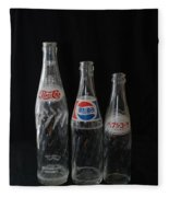 Pepsi Bottles Fleece Blanket