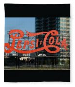 Pepsi-cola Fleece Blanket