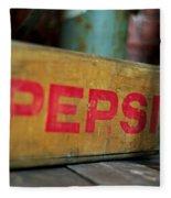 Pepsi Crate Fleece Blanket