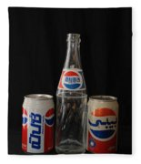 Pepsi From Around The World Fleece Blanket