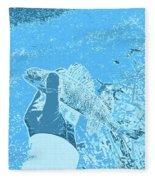 Perch Blue Fleece Blanket