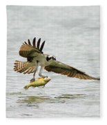 Perch On The Run 2 Fleece Blanket