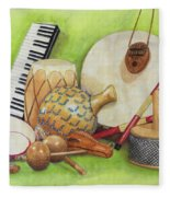 Percussion Fleece Blanket