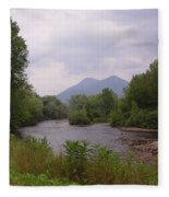 Percy Peaks From Northside Rd Fleece Blanket