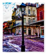 Pere Antoine Alley - New Orleans Fleece Blanket