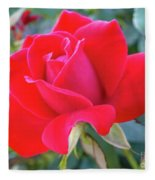 Perfect Form - Knock Out Rose Fleece Blanket