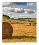 Perfect Harvest Landscape Fleece Blanket
