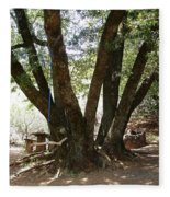 Perfect Picnic Tree Fleece Blanket