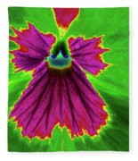 Perfectly Pansy 04 - Photopower Fleece Blanket
