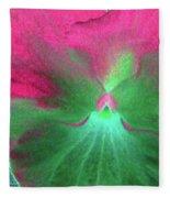 Perfectly Pansy 07 - Photopower Fleece Blanket