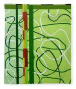 Peridot Party Fleece Blanket