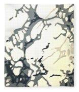 Period Wallpaper Fleece Blanket