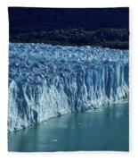 Perito Moreno Glacier #2 - Patagonia Fleece Blanket