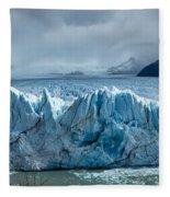 Perito Moreno Glacier Pano Fleece Blanket