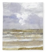 Periwinkle Coast Fleece Blanket