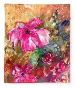 Perky Pink Fleece Blanket
