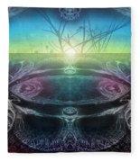 Perpetual Motion Landscape Fleece Blanket